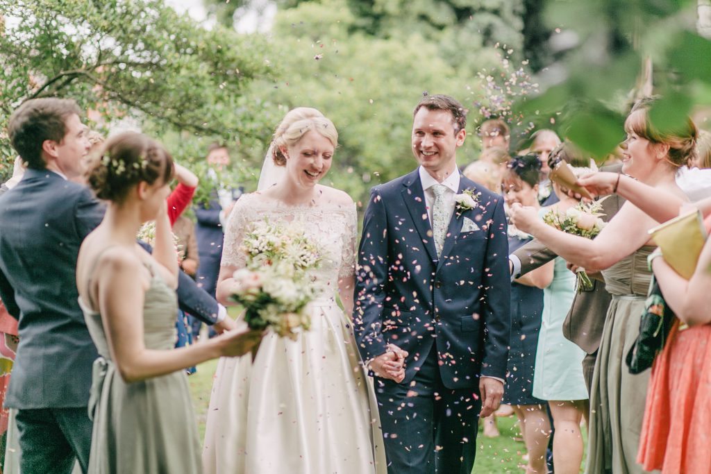 Laura and Ian's CONFETTI walk